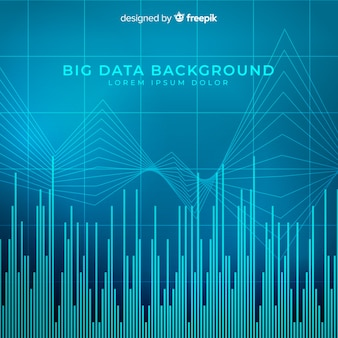 Big data background in abstract style
