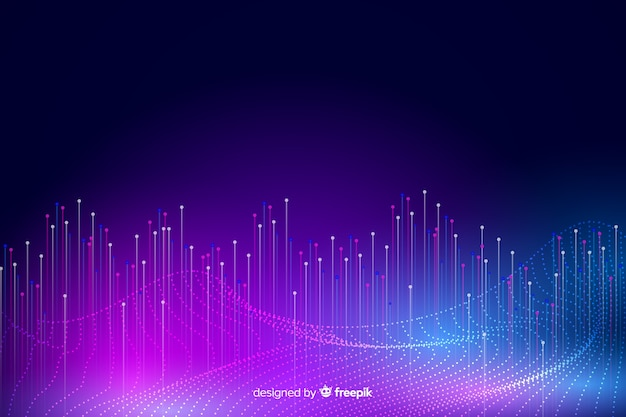 Big data concept abstract background