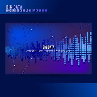 Big data concept background