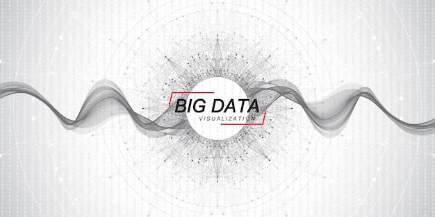 Вектор визуализации алгоритмов машинного обучения больших данных