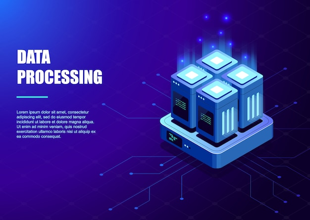 Big data processing template