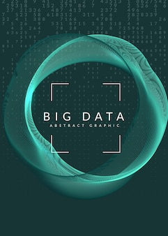 Big data. technology, artificial intelligence, deep learning and quantum computing.