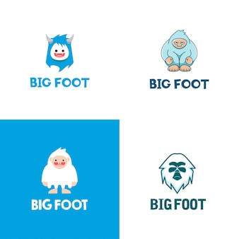 Big foot logo collection