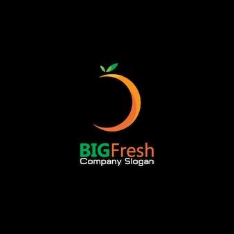 Big fresh icon logo