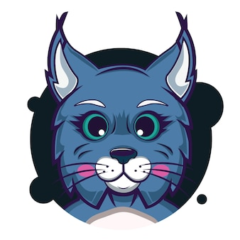 Big head bobcat avatar