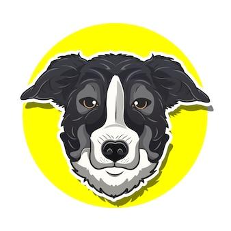 大きな頭の犬漫画