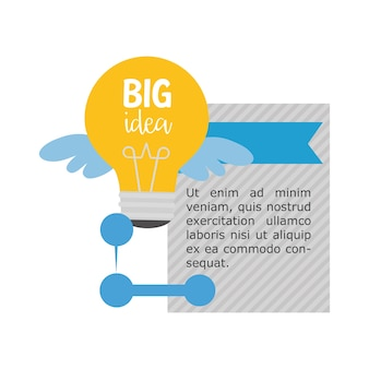 Big idea infographic design