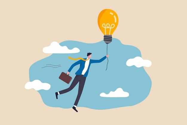 Big idea to solve business problem concept