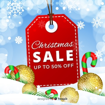 Big label christmas sale