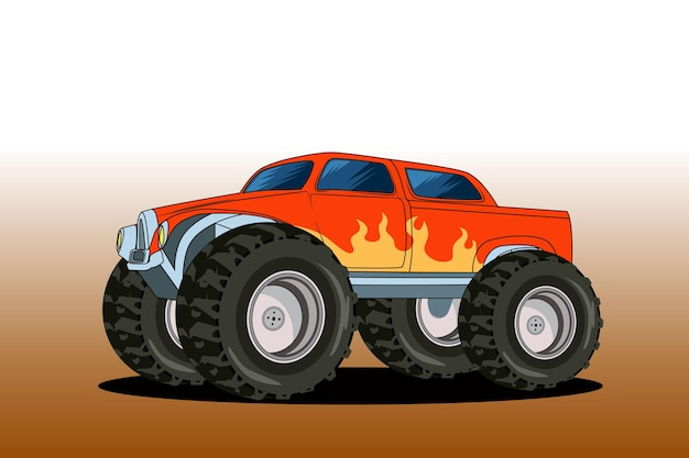 Big monster off-road