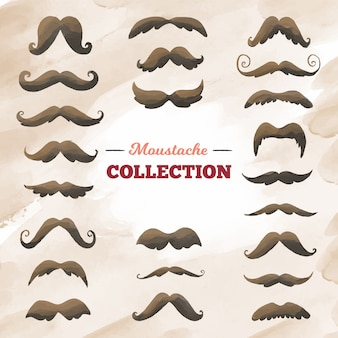 Big mustache collection for movember