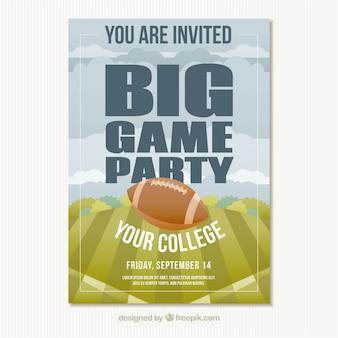 大学の陸上競技のためのビッグパーティー