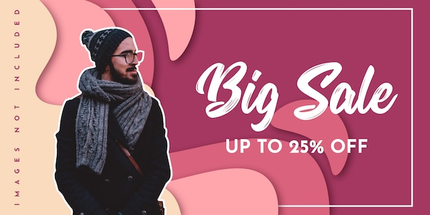 Big sale background design
