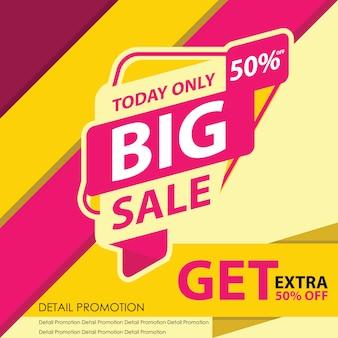 Big sale banner d