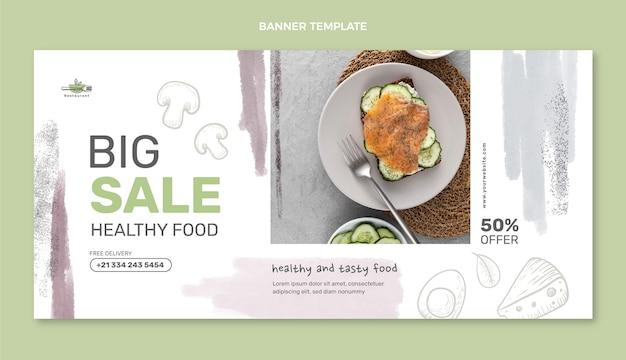Modello di progettazione banner di grande vendita