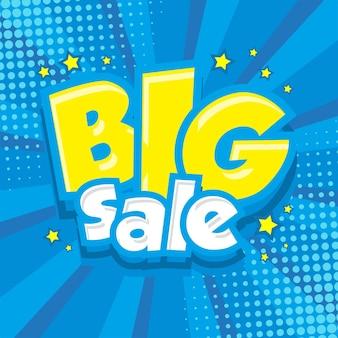Big sale on comic style