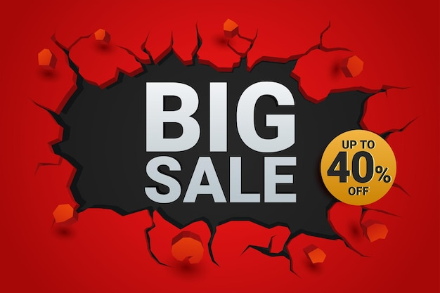 Big sale on crack wall style