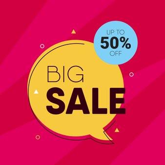 Big sale modern design template
