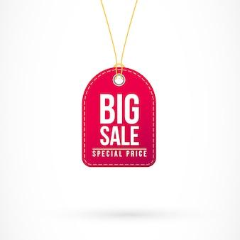 Big sale tag