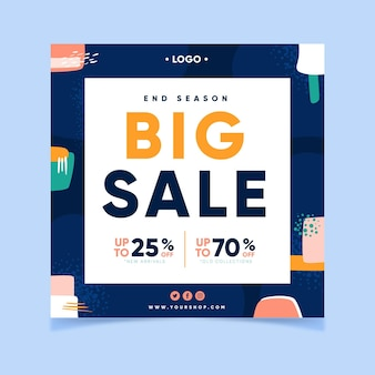 Big sale with discounts