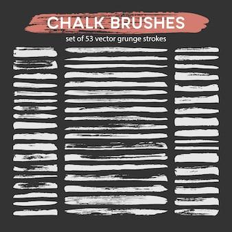 Big set of chalk brushes