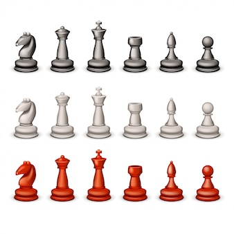 Big set chess