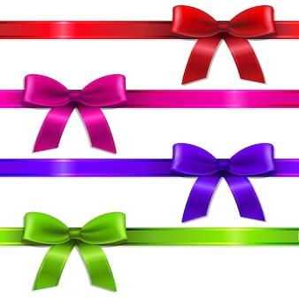 Big set ribbons, with gradient mesh