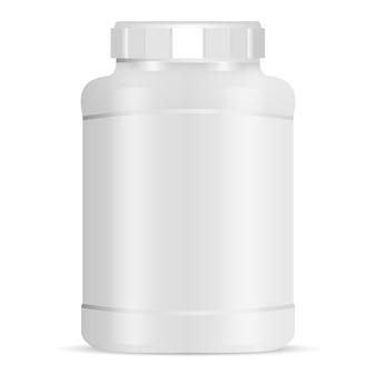 大きなスポーツ栄養缶
