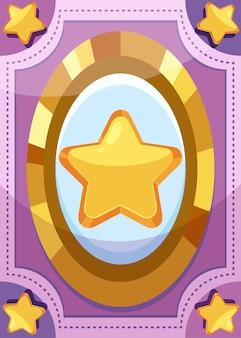 Шаблон игровой карты big star