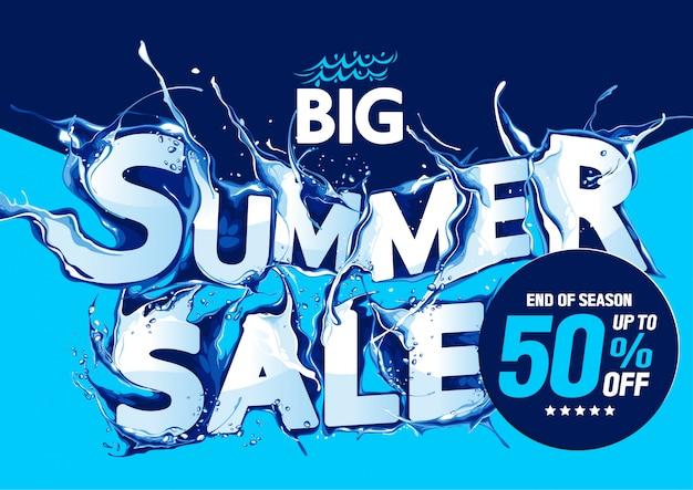 Big summer sale end of season