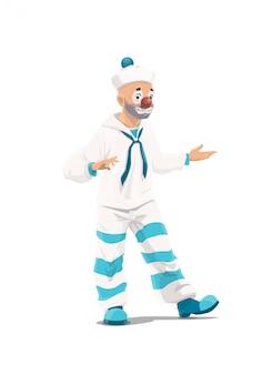 Большой топ цирковой клоун мим