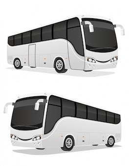큰 투어 버스