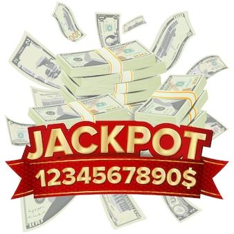 Big win banner for online casino