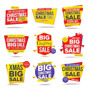 Biggest xmas offer sale banner
