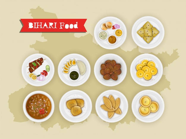 Bihari food set