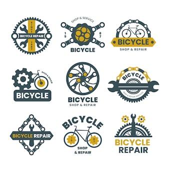 自転車のロゴコレクション