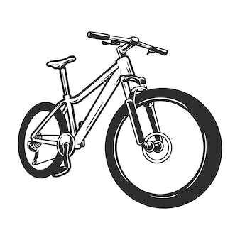 自転車または自転車の描画