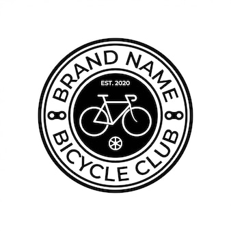 Bike shop service badge logo
