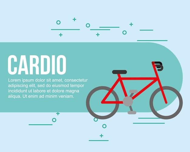 Bike sport cardio healthy