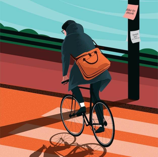 Велосипед на работу