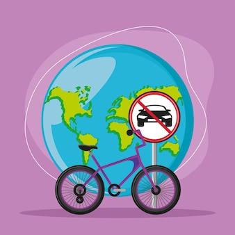 Bike for world car free