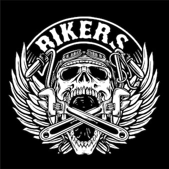 Bikers club logo