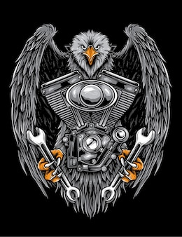 Bikers society artwork