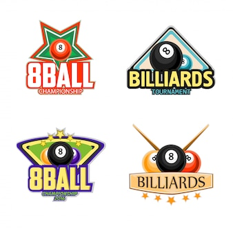 Бильярд, бильярд и снукер спортивные значки