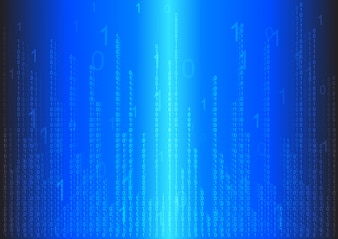 Binary abstract background