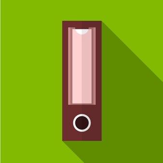 Binder flat icon illustration isolated vector sign symbol