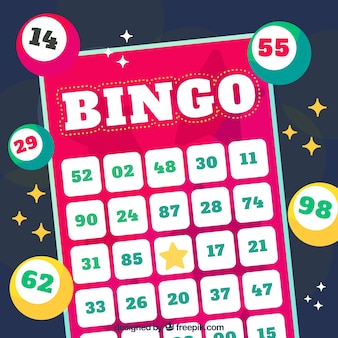 Disegno di sfondo del bingo