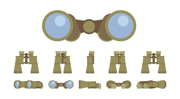 双眼鏡光学機器セット