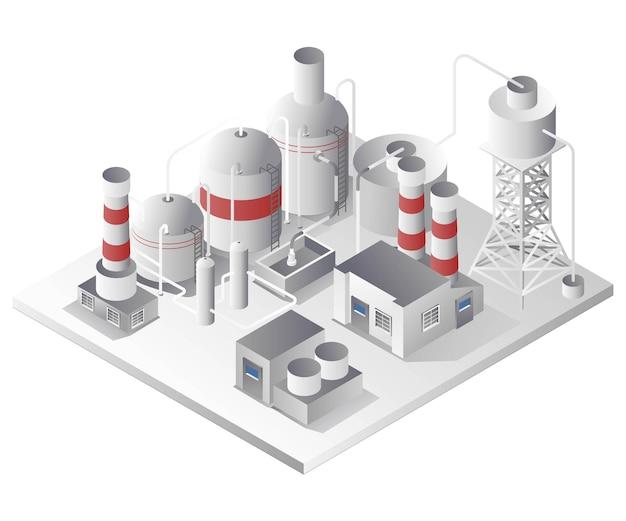 バイオガス産業プラントパイプライン