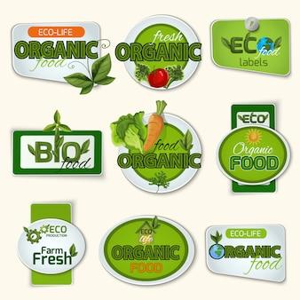 Bio organic life badges